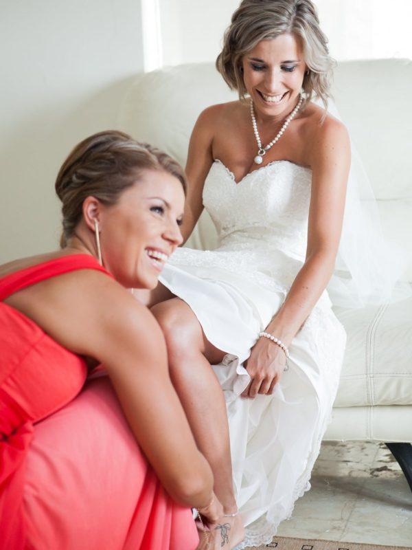 Bali Beachfront Hotel Wedding - Bride and Bridesmaid photo shoot